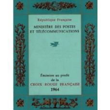 carnet croix rouge 1964