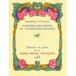 carnet croix rouge 1965