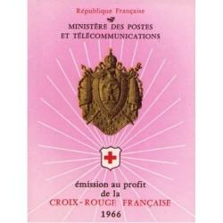 carnet croix rouge 1966