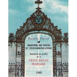 carnet croix rouge 1968
