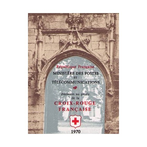 carnet croix rouge 1970