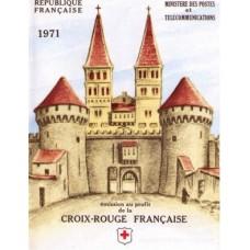 carnet croix rouge 1971