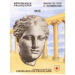 carnet croix rouge 1972