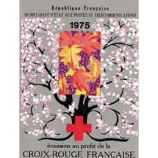 carnet croix rouge 1975