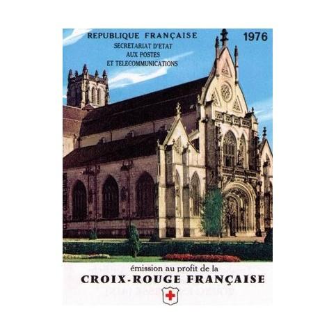 carnet croix rouge 1976