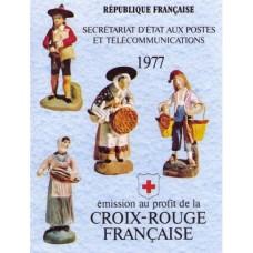 carnet croix rouge 1977