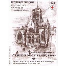 carnet croix rouge 1979