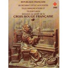 carnet croix rouge 1980