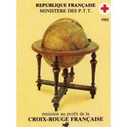 carnet croix rouge 1982