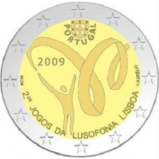 PORTUGAL  2009 - 2 EUROS COMMEMORATIVE