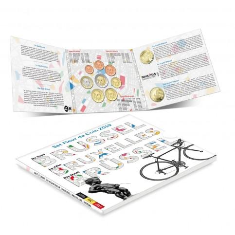Belgique 2019 - Coffrets euro BU