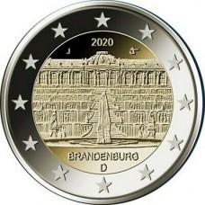 Allemagne 2020 - 2 euro commémorative Palais de Sanssouci