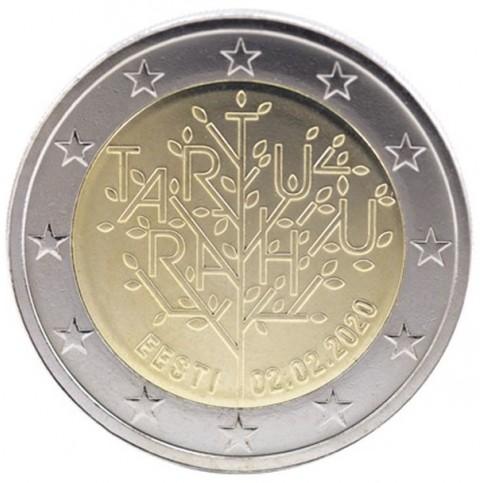 Estonie 2020 - 2 euro commémorative Traité de Tartu