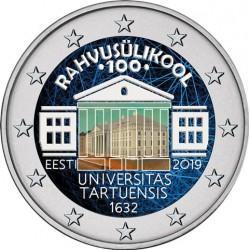 Estonie 2019 - 2 euro commémorative en couleur