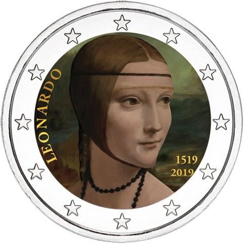 Italie 2019 - 2 euro commémorative en couleur