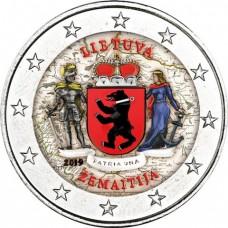 Lituanie 2019 - 2 euro commémorative en couleur