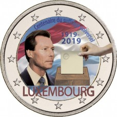 Luxembourg 2019 - 2 euro commémorative en couleur