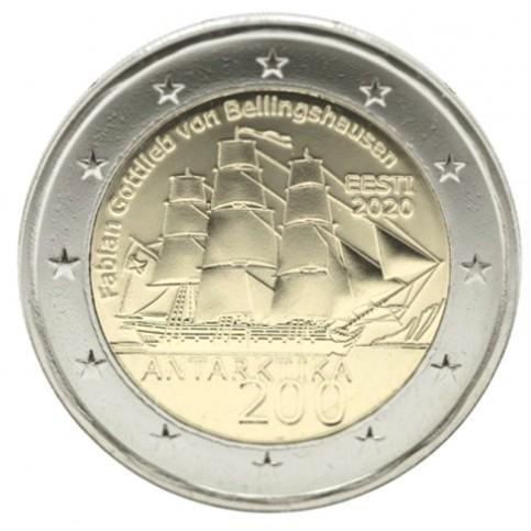 Estonie 2020 - 2 euro commémorative Antarctique