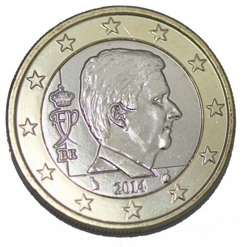 Belgique Roi Philippe 1 euro