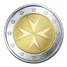 Malte 2 euros