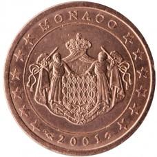 Monaco Prince Rainier 5 centimes