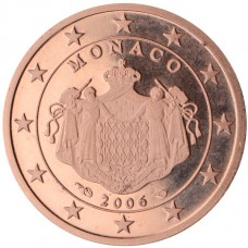 Monaco Prince Albert 1 centime