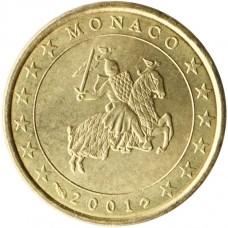 Monaco Prince Rainier 50 centimes