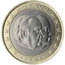 Monaco Prince Rainier 1 euro