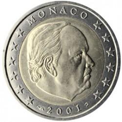 Monaco Prince Rainier 2 euros