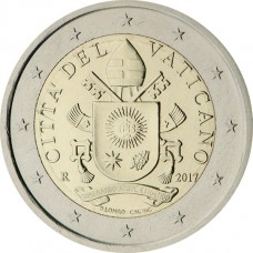 Vatican Armoiries 2 euros