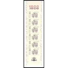 Carnet commémoratif JT 1988