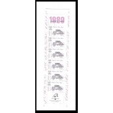 Carnet commémoratif JT 1989