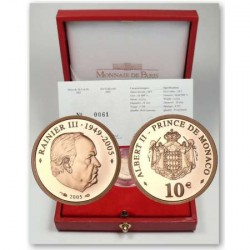 Monaco 2005 - 10 Euro OR