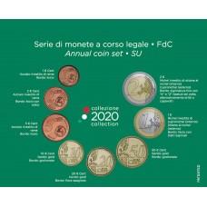 Italie 2020 - Coffrets euro BU