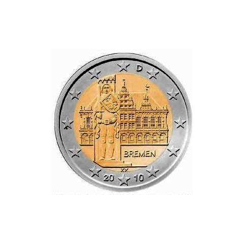 ALLEMAGNE 2010 - 2 EUROS COMMEMORATIVE