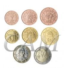 Autriche - Série complète euro neuve