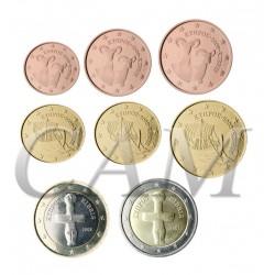 Chypre - Série complète euro neuve