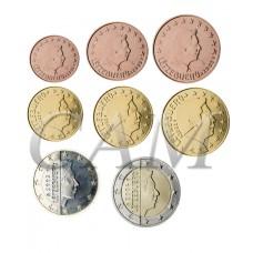 Luxembourg - Série complète euro neuve