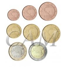 Estonie - Série complète euro neuve