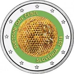 Slovénie 2018 Abeilles - 2 euro commémorative en couleur
