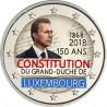 Luxembourg 2018 Constitution - 2 euro commémorative en couleur