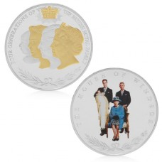 Frappe non monétaire commémorative Famille royale