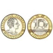 Dix Francs MONTESQUIEU