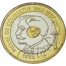 Vingt Francs COUBERTIN
