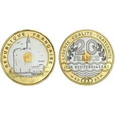 Vingt Francs Jeux Méditérannéens