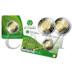 Belgique 2020 Coincard - 2 euros Santé des végétaux
