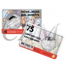 Belgique 2020 Coincard - 5 euros Bob et Bobette