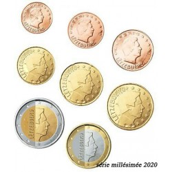 Luxembourg 2020 - série complète euro neuve