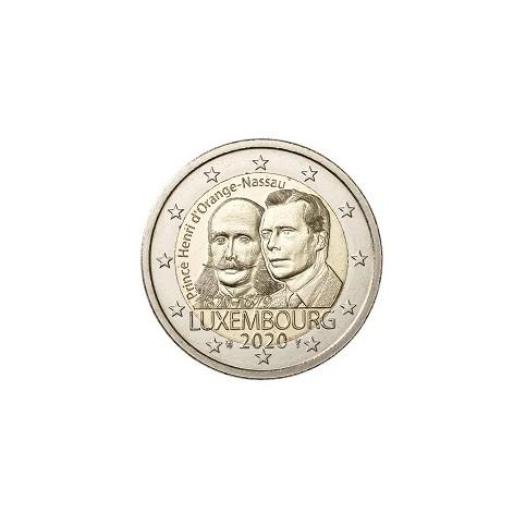 Luxembourg 2020 - 2 euro commémorative Prince Henri