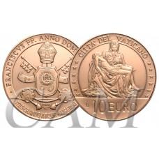 Vatican 2020 - 10 euro cuivre Michel Ange